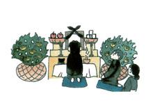 後祭壇飾りの準備(49日法要迄)